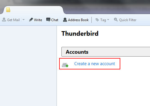 Thunderbird Tutorial 1