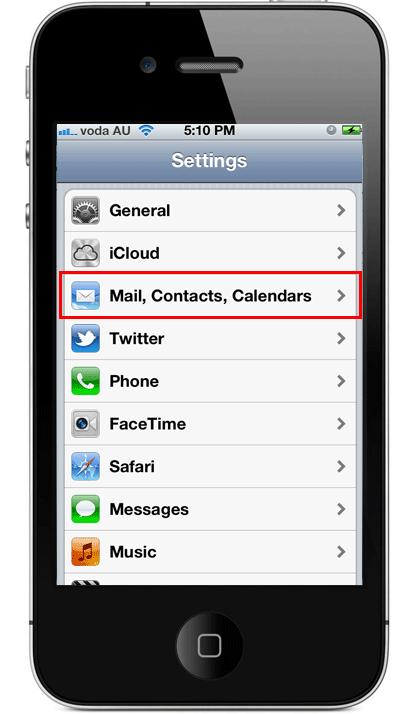 iPhone iPad Email 2