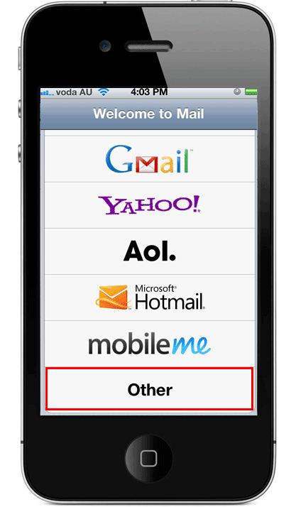 iPhone iPad Email 4