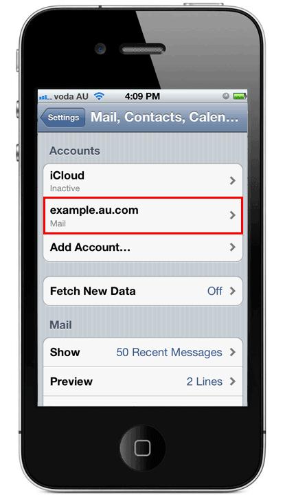 iPhone iPad Email 11