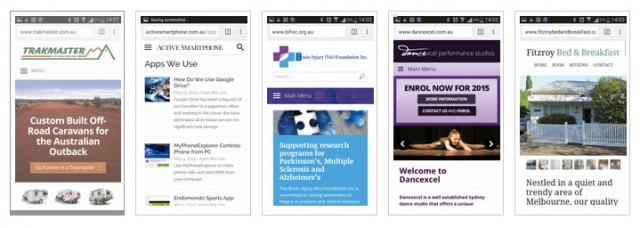 WordPress Mobile Websites