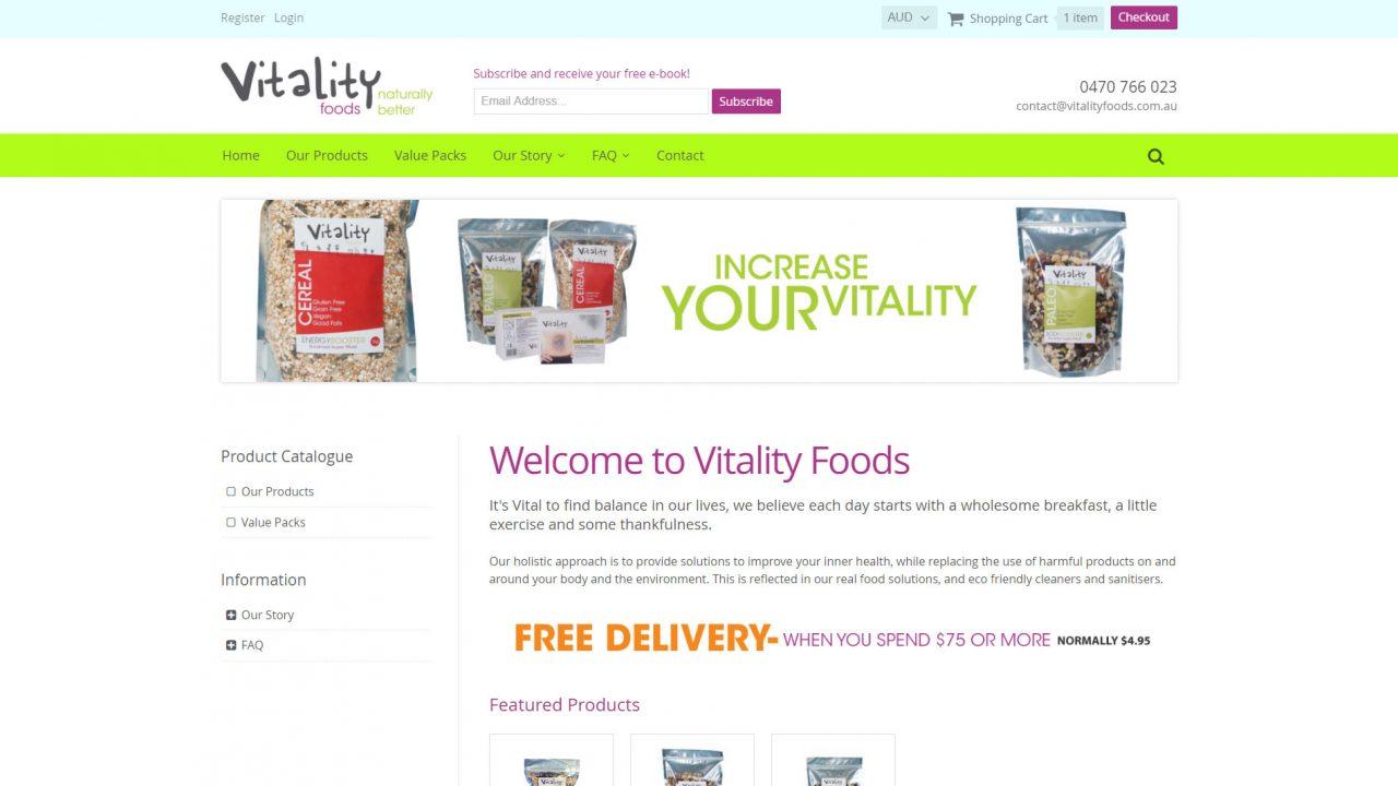 Vitality Foods