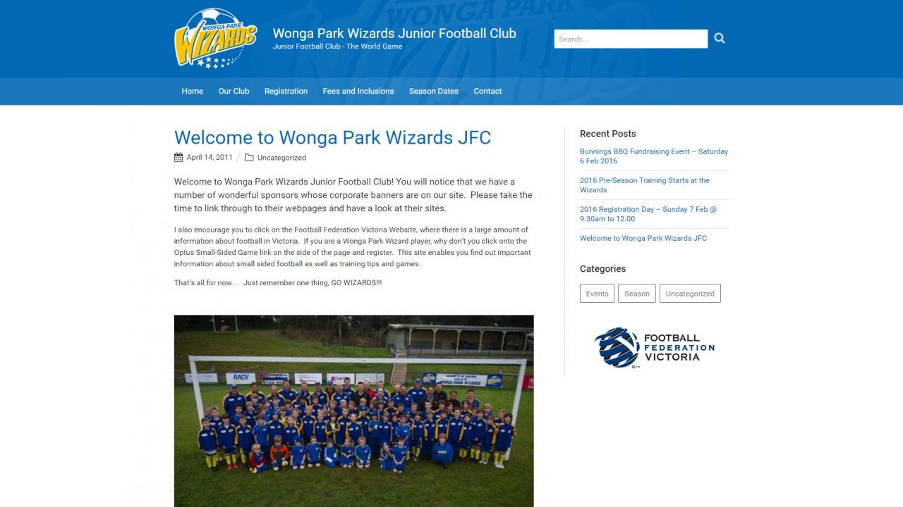 Wonga Park Wizards