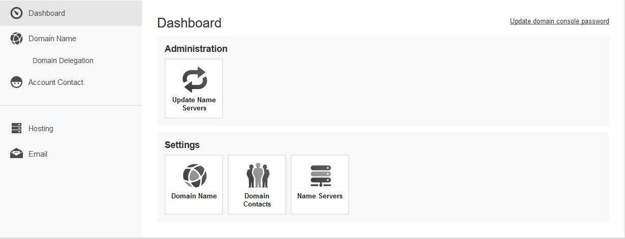 domain-dashboard