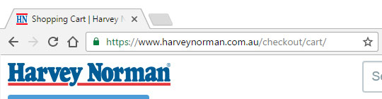 Harvey Norman No EV SSL