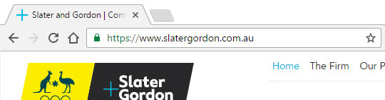 Slater and Gordon No EV SSL