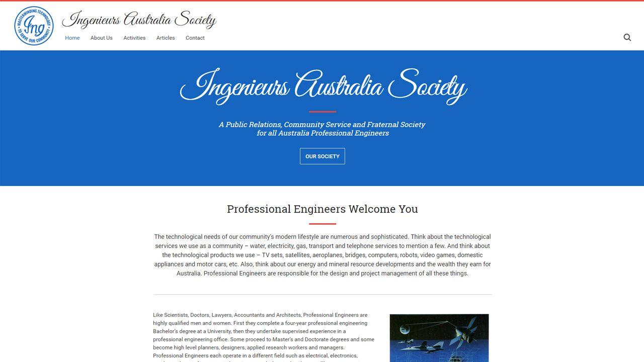 Ingenieurs Australia Society